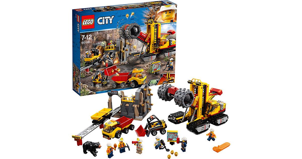 Lego 60188 City: Bergbauprofis an der Abbaustätte
