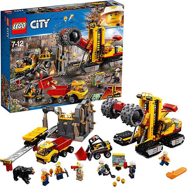 LEGO 60188 City: Bergbauprofis an der Abbaustätte, LEGO City