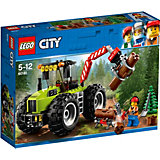 LEGO City Great Vehicles 60181: Лесной трактор
