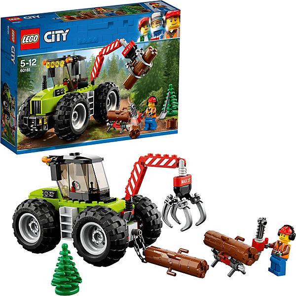 LEGO City Great Vehicles 60181: Лесной трактор