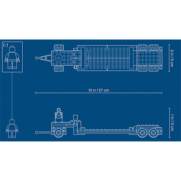 LEGO City Great Vehicles 60183: Перевозчик вертолета