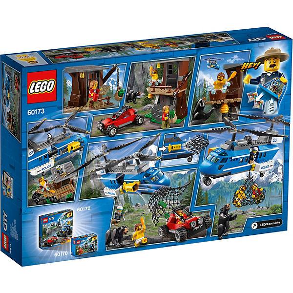 Конструктор LEGO City 60173: Погоня в горах