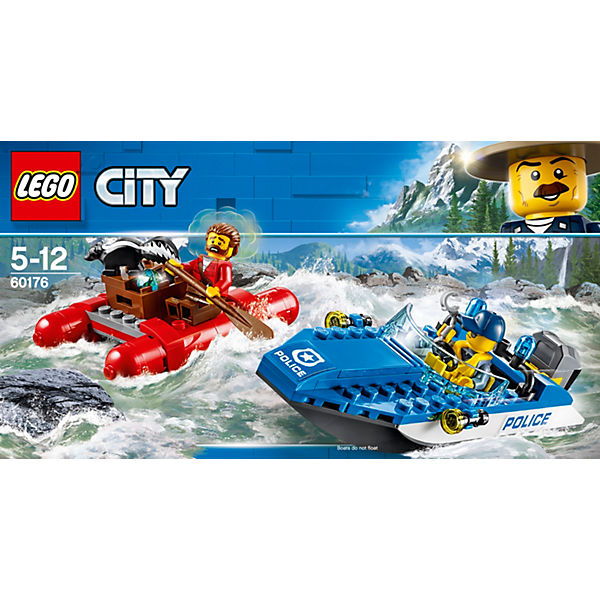 Конструктор LEGO City 60176: Погоня по горной реке