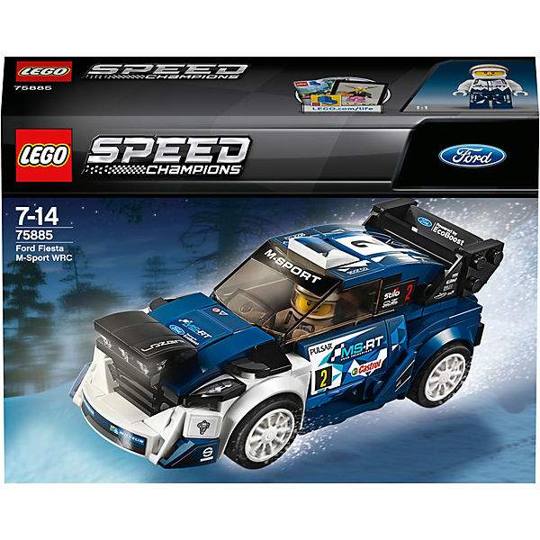 LEGO 75885 Speed: Ford Fiesta M-Sport WRC