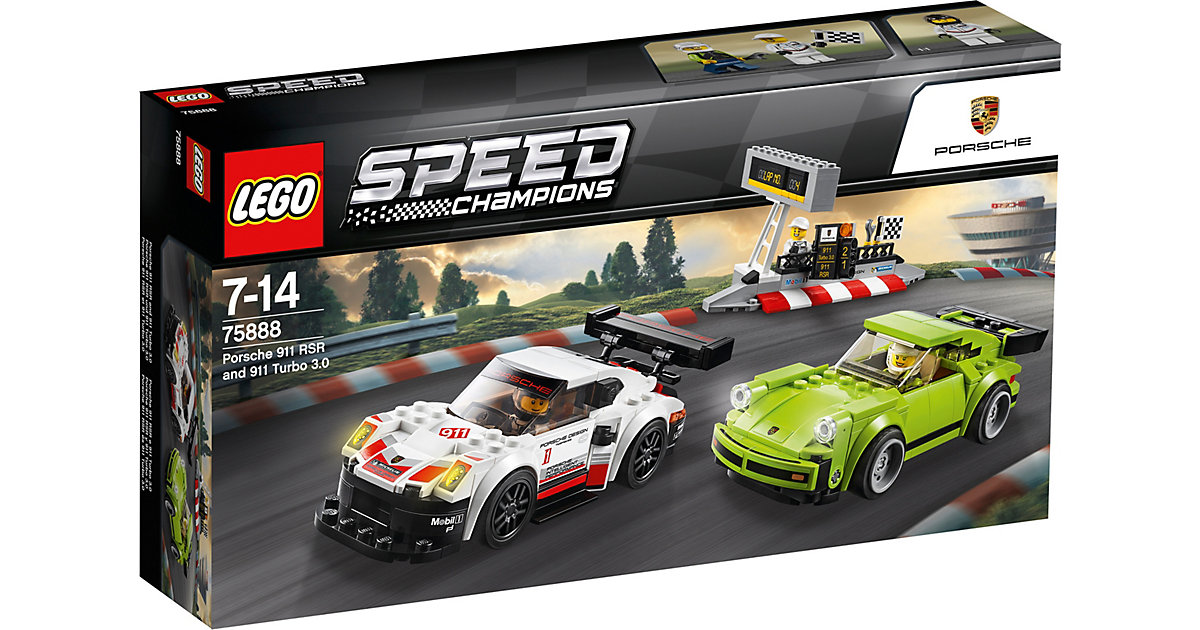 LEGO 75888 Speed: Porsche 911 RSR und 911 Turbo 3.0