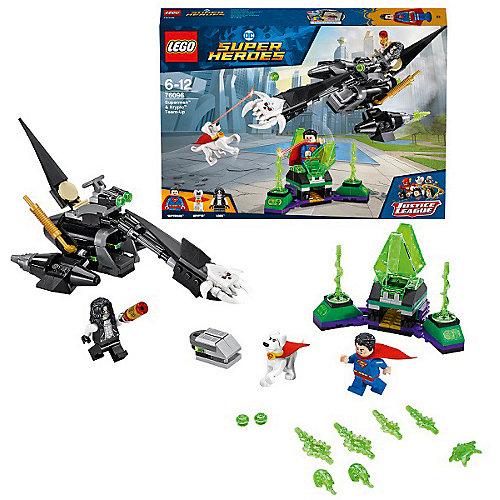Конструктор LEGO Super Heroes 76096: Супермен и Крипто объединяют усилия от LEGO