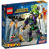 Конструктор LEGO Super Heroes 76097: Сражение с роботом Лекса Лютора