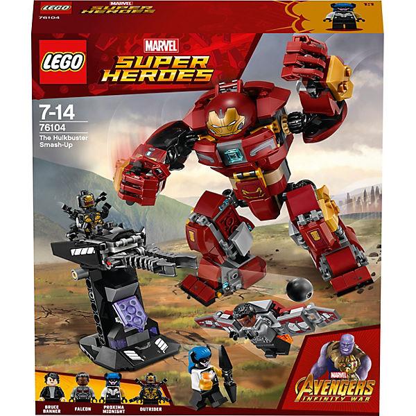 LEGO 76104 Super Heroes: Der Hulkbuster, Marvel Avengers