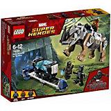 Конструктор LEGO Super Heroes 76099: Поединок с Носорогом