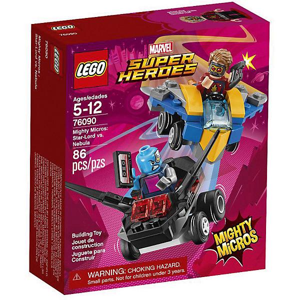 Конструктор LEGO Super Heroes 76090: Mighty Micros: Звёздный Лорд против Небулы
