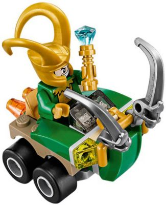 LEGO® MARVEL Figur aus Set 76152 Loki mit Zepter NEU