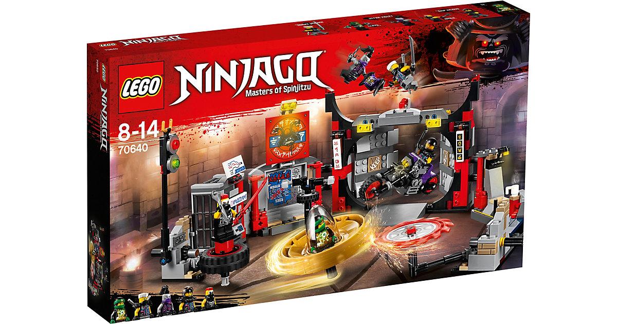 LEGO 70640 Ninjago: Hauptquartier der Motorradfahrer