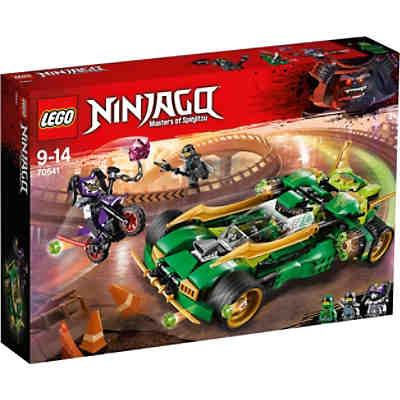 lego 70641 ninjago lloyds nachtflitzer lego ninjago mytoys. Black Bedroom Furniture Sets. Home Design Ideas