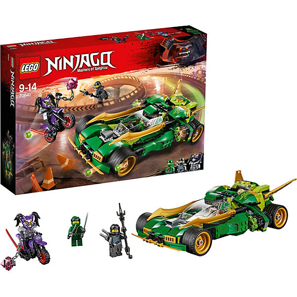 Конструктор LEGO Ninjago 70641: Ночной вездеход ниндзя