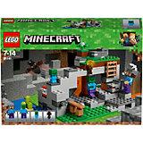 Конструктор LEGO Minecraft 21141: Пещера зомби