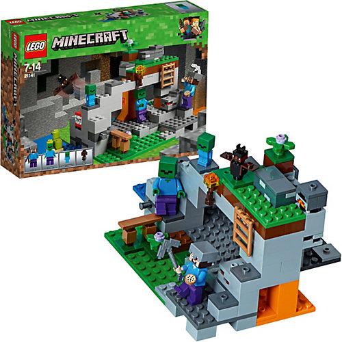 Конструктор LEGO Minecraft 21141: Пещера зомби от LEGO