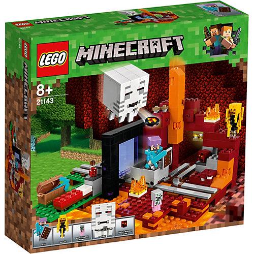Конструктор LEGO Minecraft 21143: Портал в Подземелье от LEGO