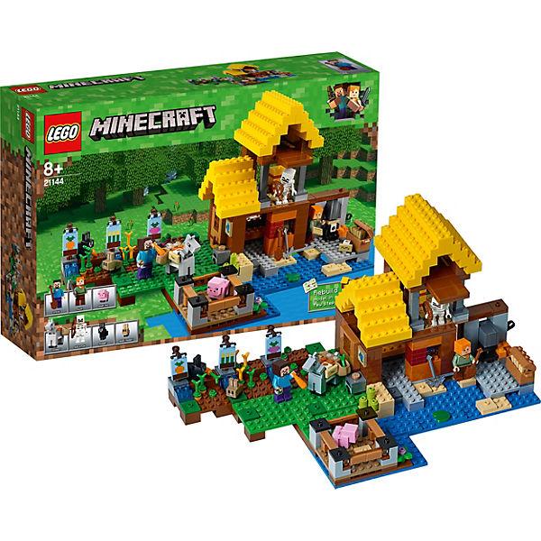 lego 21144 minecraft farmh uschen minecraft mytoys. Black Bedroom Furniture Sets. Home Design Ideas