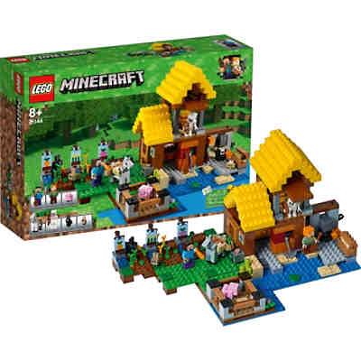 LEGO Minecraft Artikel Günstig Online Kaufen MyToys - Minecraft haus bauen grob