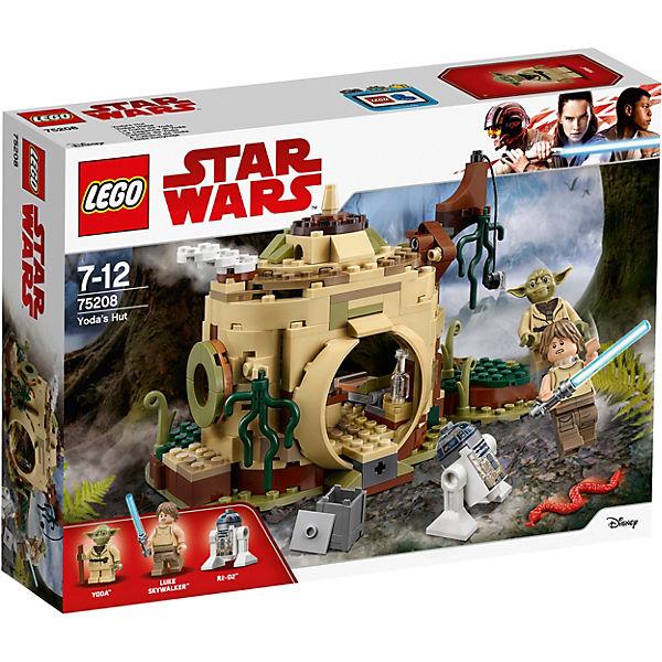 Конструктор LEGO Star Wars 75208: Хижина Йоды