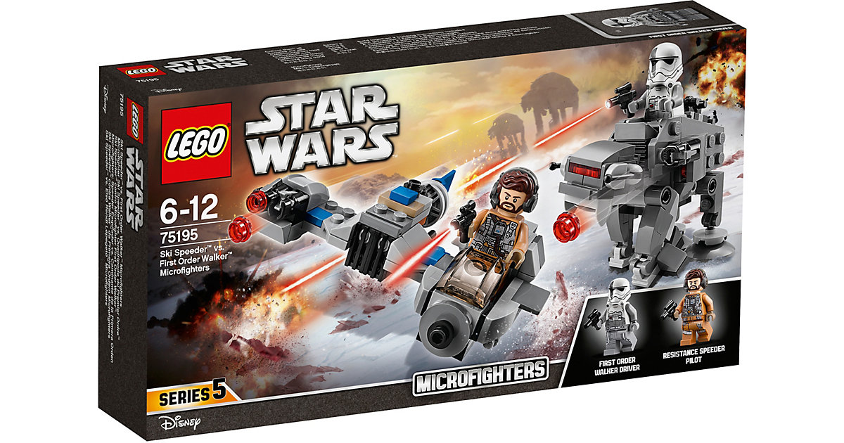 LEGO 75195 Star Wars: Ski Speeder™ vs. First Order Walker™ Microfighters