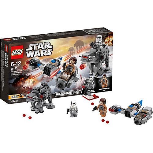 LEGO Star Wars 75195: Бой пехотинцев Первого Ордена против спидера на лыжах от LEGO