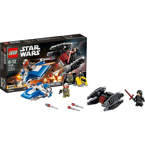 LEGO Star Wars 75196: Истребитель типа A против бесшумного истребителя СИД