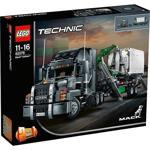 lego 42078 technic mack anthem lego technic mytoys. Black Bedroom Furniture Sets. Home Design Ideas