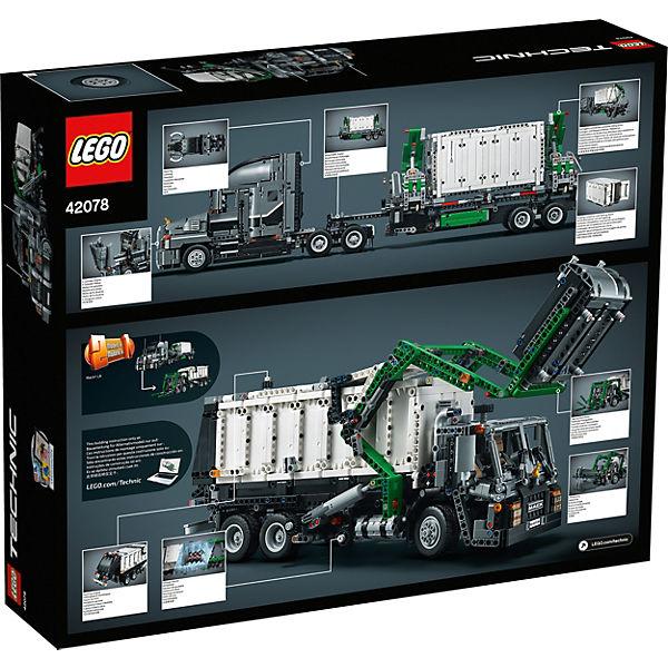 Конструктор LEGO Technic 42078: Грузовик MACK