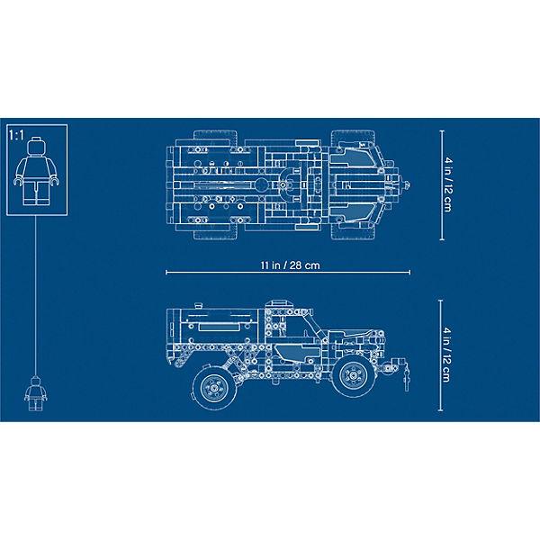 Конструктор LEGO Technic 42075: Служба быстрого реагирования