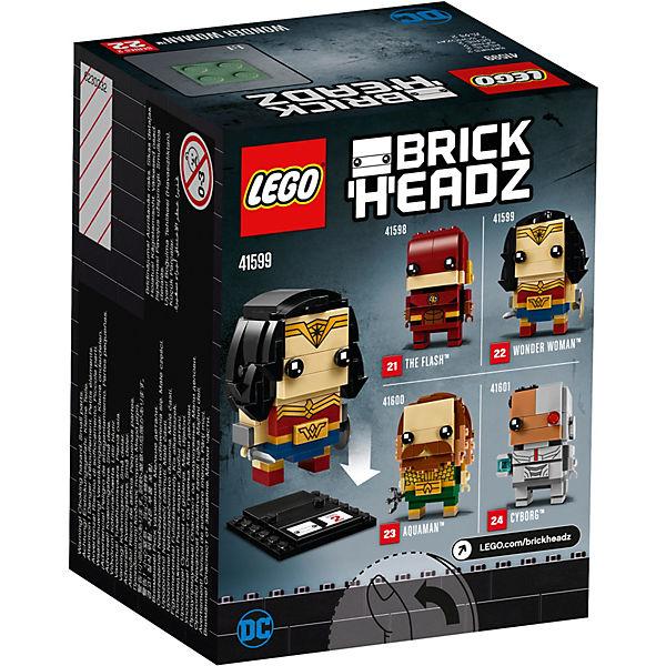 Сборная фигурка LEGO BrickHeadz 41599: Чудо-женщина
