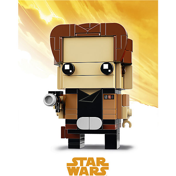 Сборная фигурка LEGO BrickHeadz 41608: Хан Соло