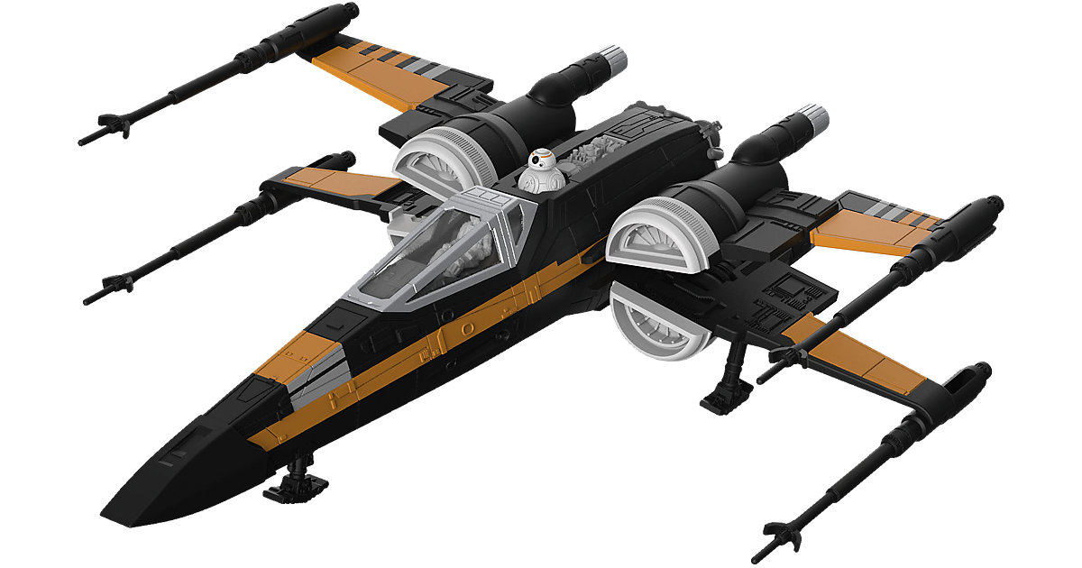 Revell Modellbausatz - Star Wars Poe´s Boosted X-wing Fighter