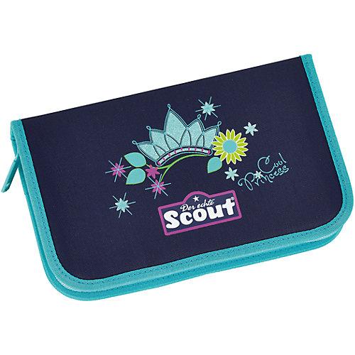 """Ранец Scout """"Sunny"""" Супер-принцесса с наполнением - dunkellila от Scout"""