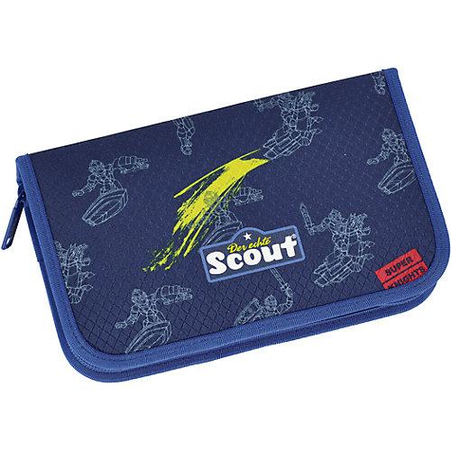 """Ранец Scout """"Sunny"""" Звездные войны с наполненеием - сине-жёлтый от Scout"""