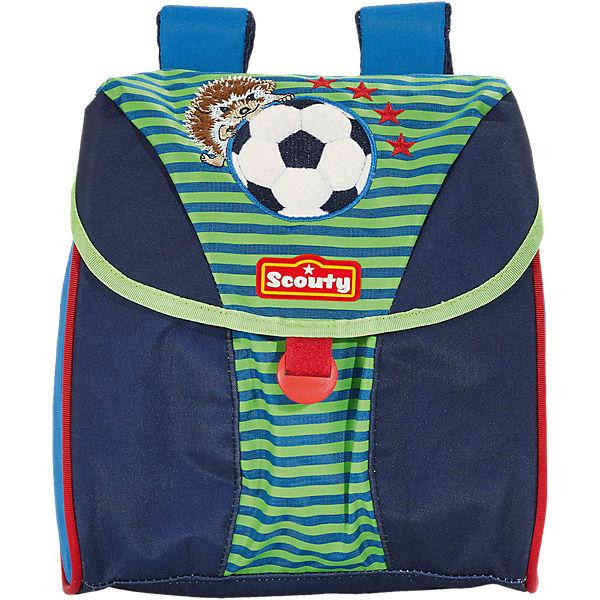 005fca02bef10 SCOUTY 20230049000 SCOUTY Lucky Kinderrucksack Fußball (Kollektion 2018)