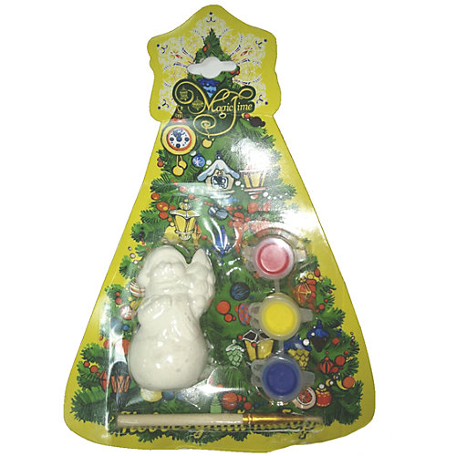 "Новогодний набор для росписи Magic Time ""Снеговик с елочкой"" от Magic Time"