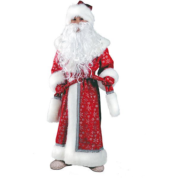 """Карнавальный костюм """"Дед Мороз"""" Батик для мальчика"""