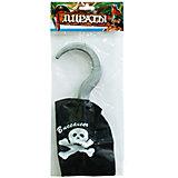 """Аксессуар для карнавала """"Пиратский крюк"""", 16,5 см."""