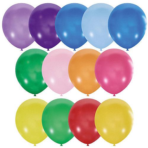 """Воздушные шары 10""""/25 см, серии Пастель и Декоратор, 100 шт от Latex Occidental"""