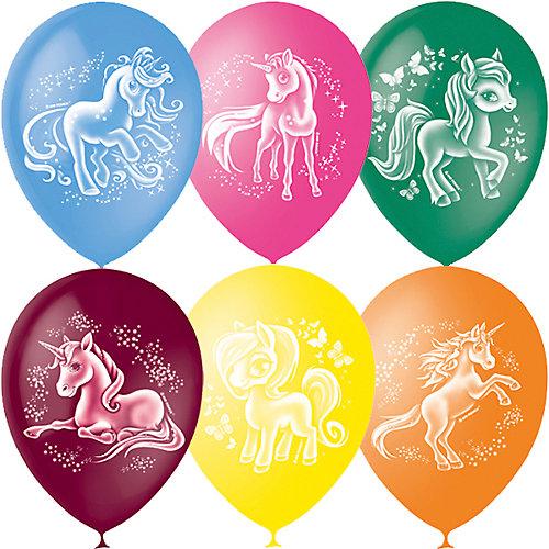 """Воздушные шары Latex Occidental """"Волшебные лошадки"""" 50 шт., пастель + декоратор от Latex Occidental"""