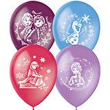 """Воздушные шары Latex Occidental """"Дисней. Холодное сердце"""" 25 шт., пастель + декоратор"""