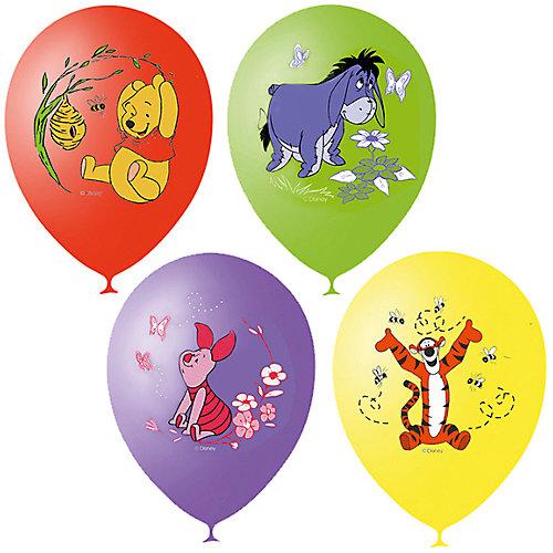 """Воздушные шары Latex Occidental """"Дисней. Винни-Пух"""" 25 шт., пастель + декоратор (шёлк) от Latex Occidental"""