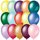 """Воздушные шары """"Металлик и перламутр"""" 14""""/35 см, 50 шт"""