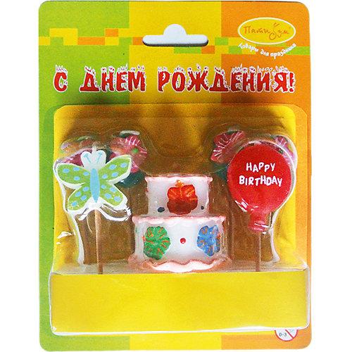 """Свечи для торта Патибум """"Праздничный торт"""" 7 шт. от Патибум"""