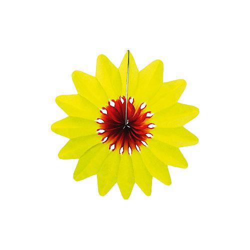 """Украшение для праздника Патибум """"Цветок"""" 36 см., жёлтый от Патибум"""
