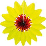 """Украшение для праздника Патибум """"Цветок"""" 36 см., жёлтый"""