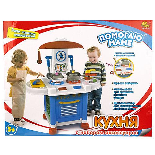 """Детская кухня Abtoys """"Помогаю маме"""", 12 предметов от ABtoys"""