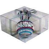 Набор елочных шаров Magic Land 4 шт, 7 см (белые)