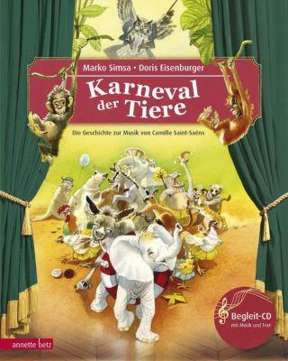 Buch - Der Karneval der Tiere, mit Audio-CD